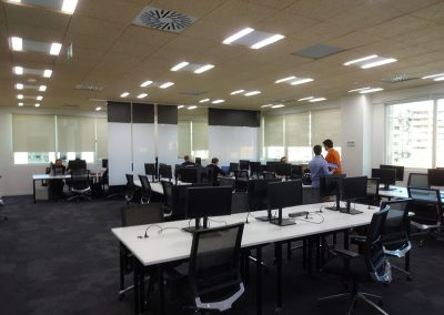 tabiques móviles tabiexpert paneles colgantes oficina