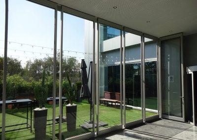 tabiques móviles tabiexpert proyecto tx-60 glass hotel nuevo madrid