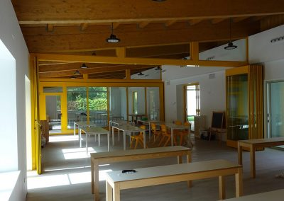 tabiques móviles tabiexpert proyecto tx-87 glass escuelas montesori