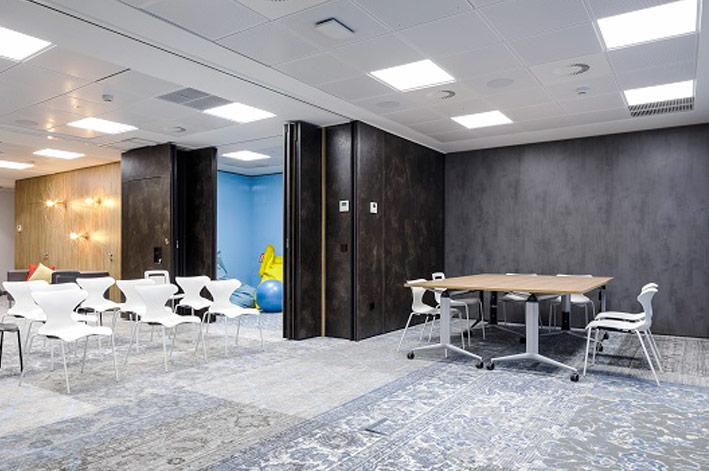 TABIEXPERT TX-110 en el palacete de Moreno Benítez, sede de las oficinas de Intu, certificadas con el Well GOLD