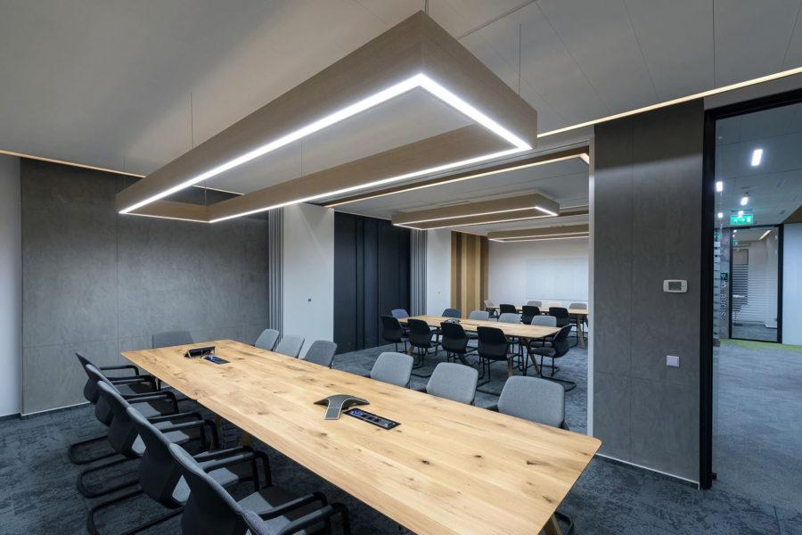 Las nuevas oficinas pos-COVID serán espacios multiusos adaptables mediante tabiques móviles